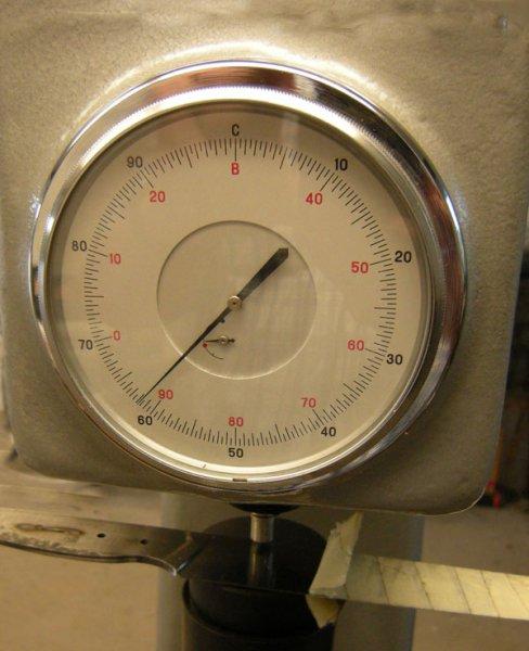 Messgerät zur Rockwell Härteprüfung