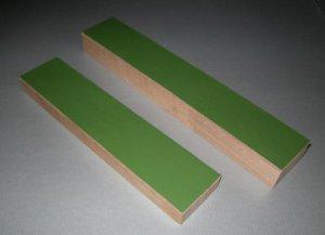 Abziehleder auf Holz
